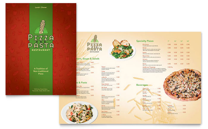 restaurant menu designing ideas