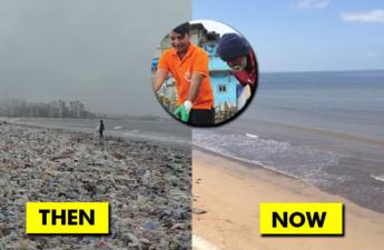 versova beach cleanup