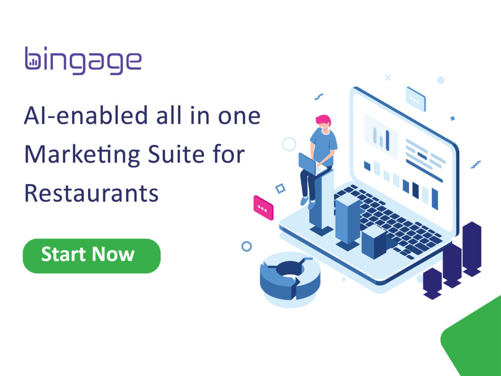 AI-Enabled cloud based marketing software for restaurants
