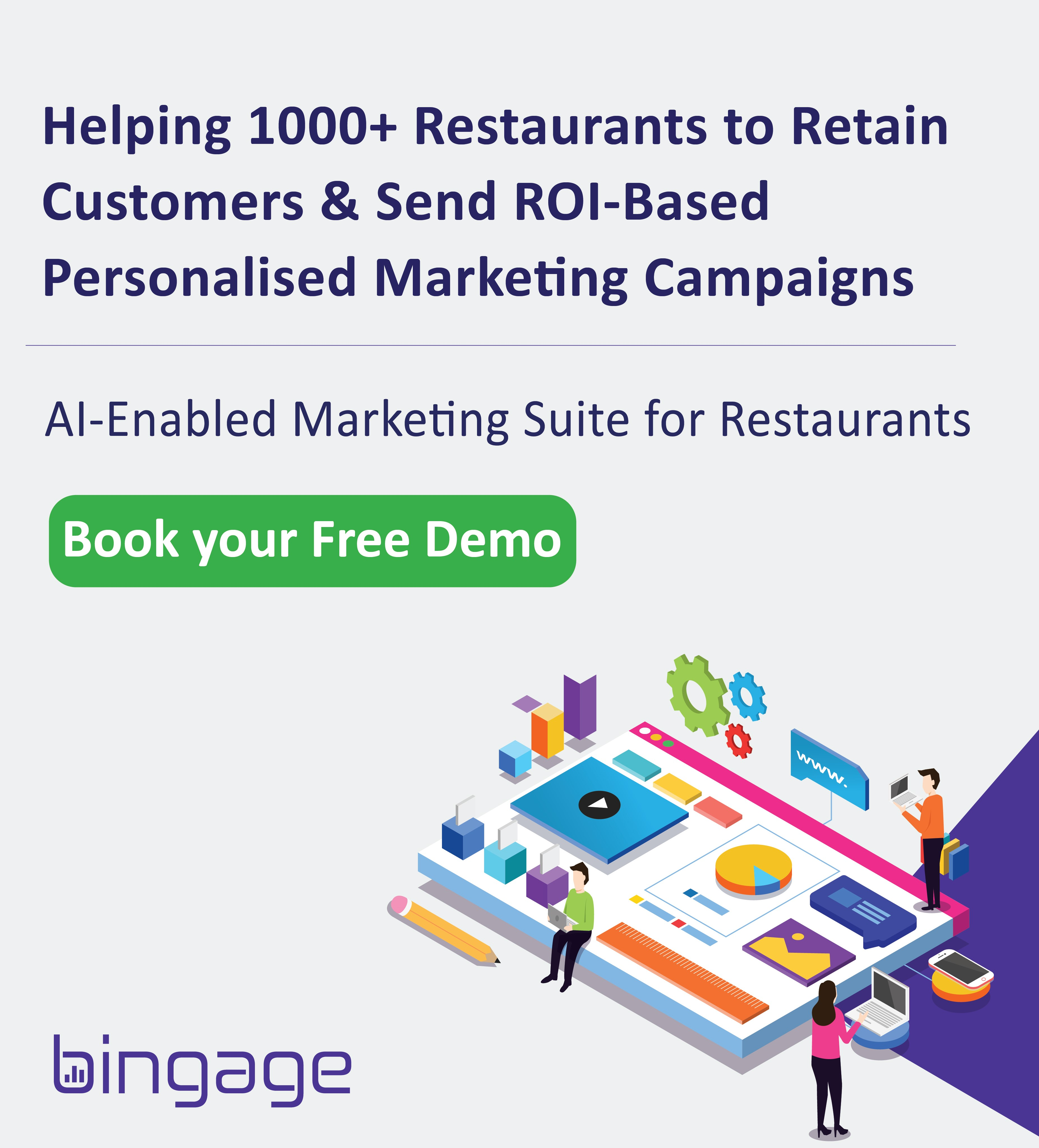 the best AI-enabled marketing automation software for restaurant in India