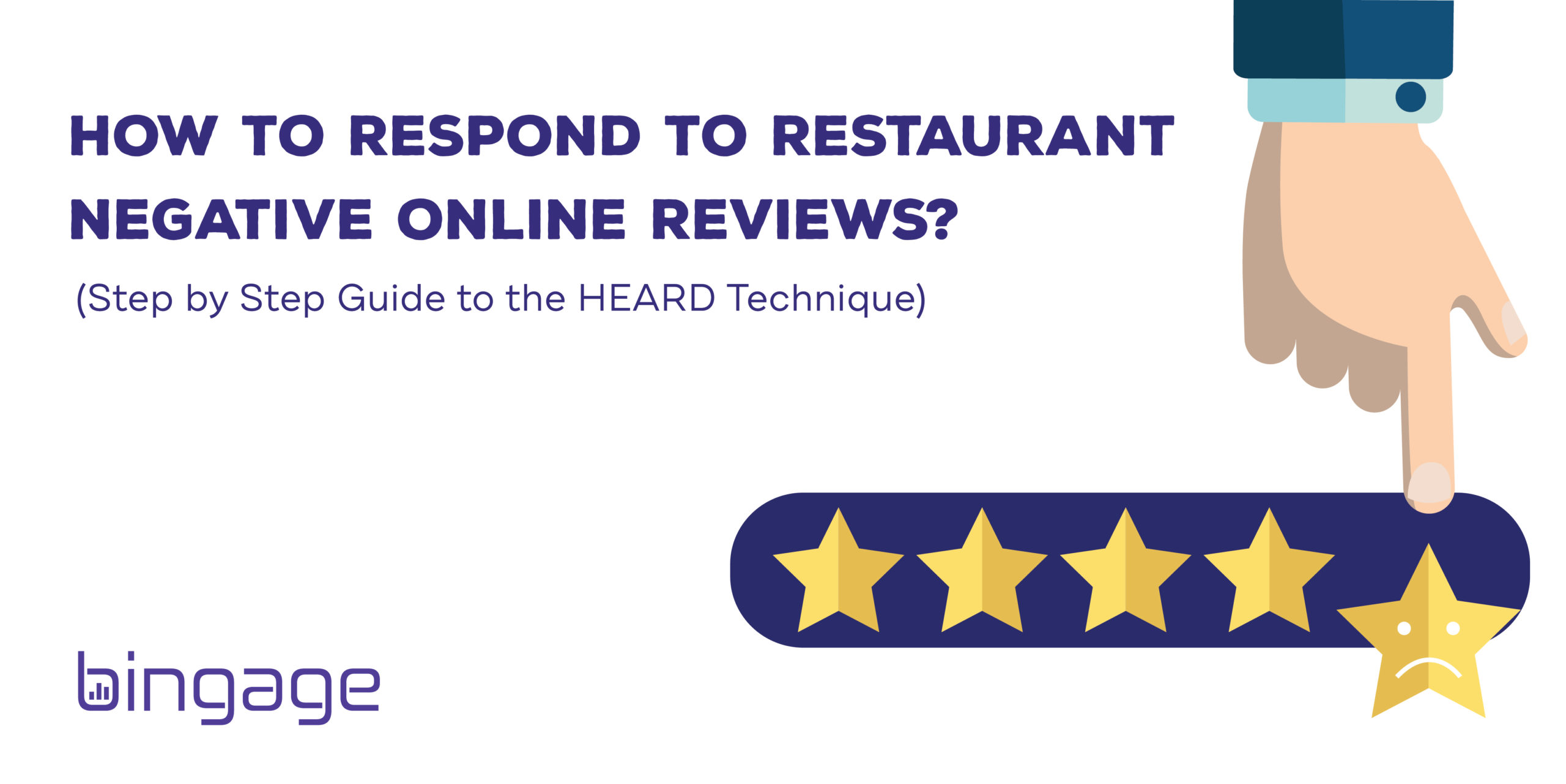 How to Deal with Negative Restaurant Reviews?