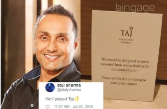rahul bose tweet and how brands responded