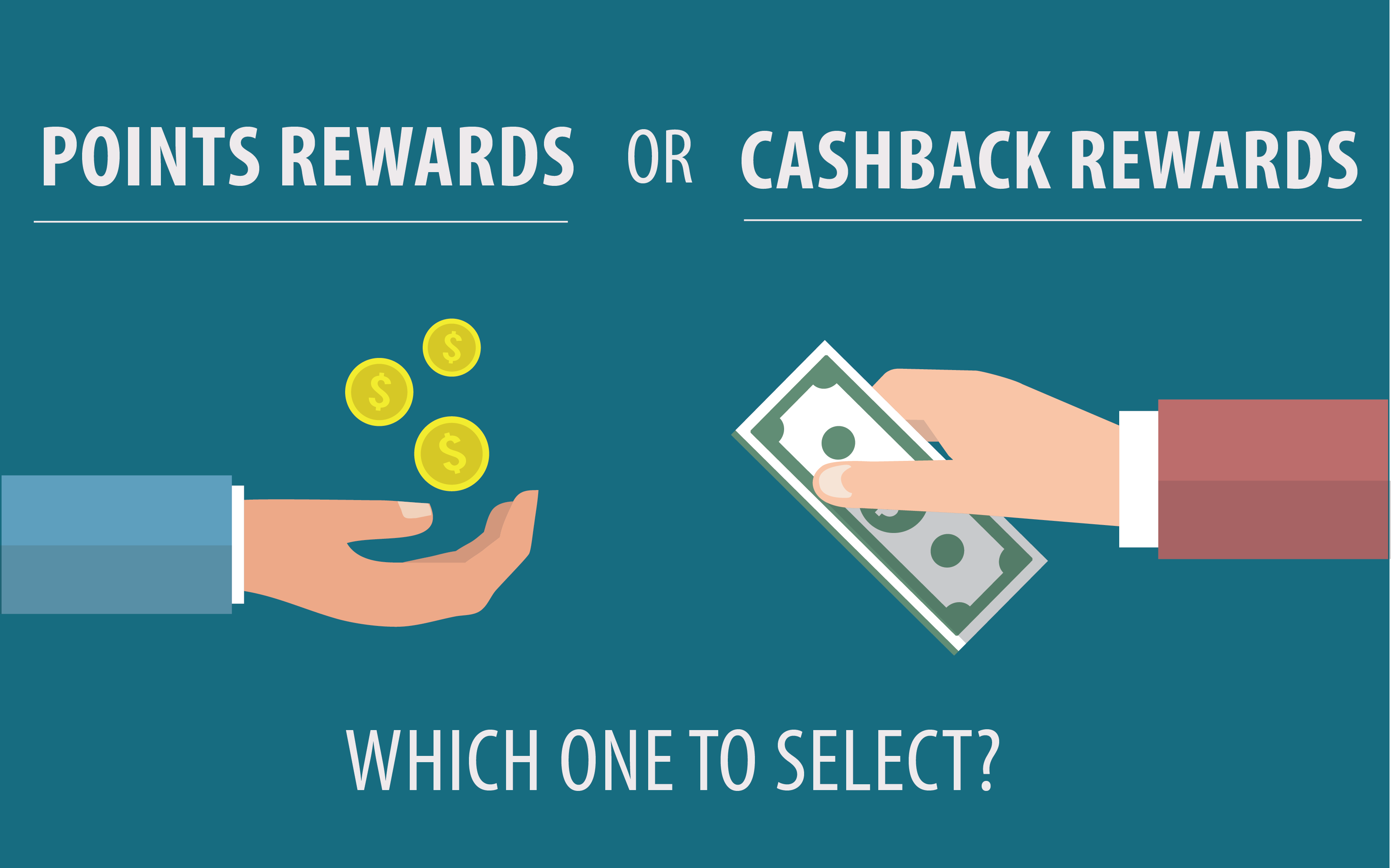 Points or Cash Rewards; Here is what 61% of customers preferring