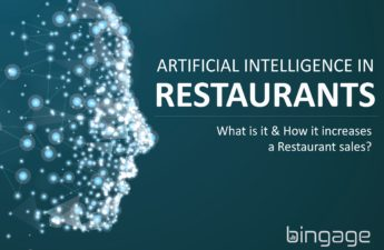 AI in restaurant; what is it and how it increases a restaurant sales