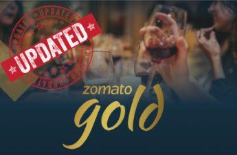 Zomato changed rules of Zomato Gold,