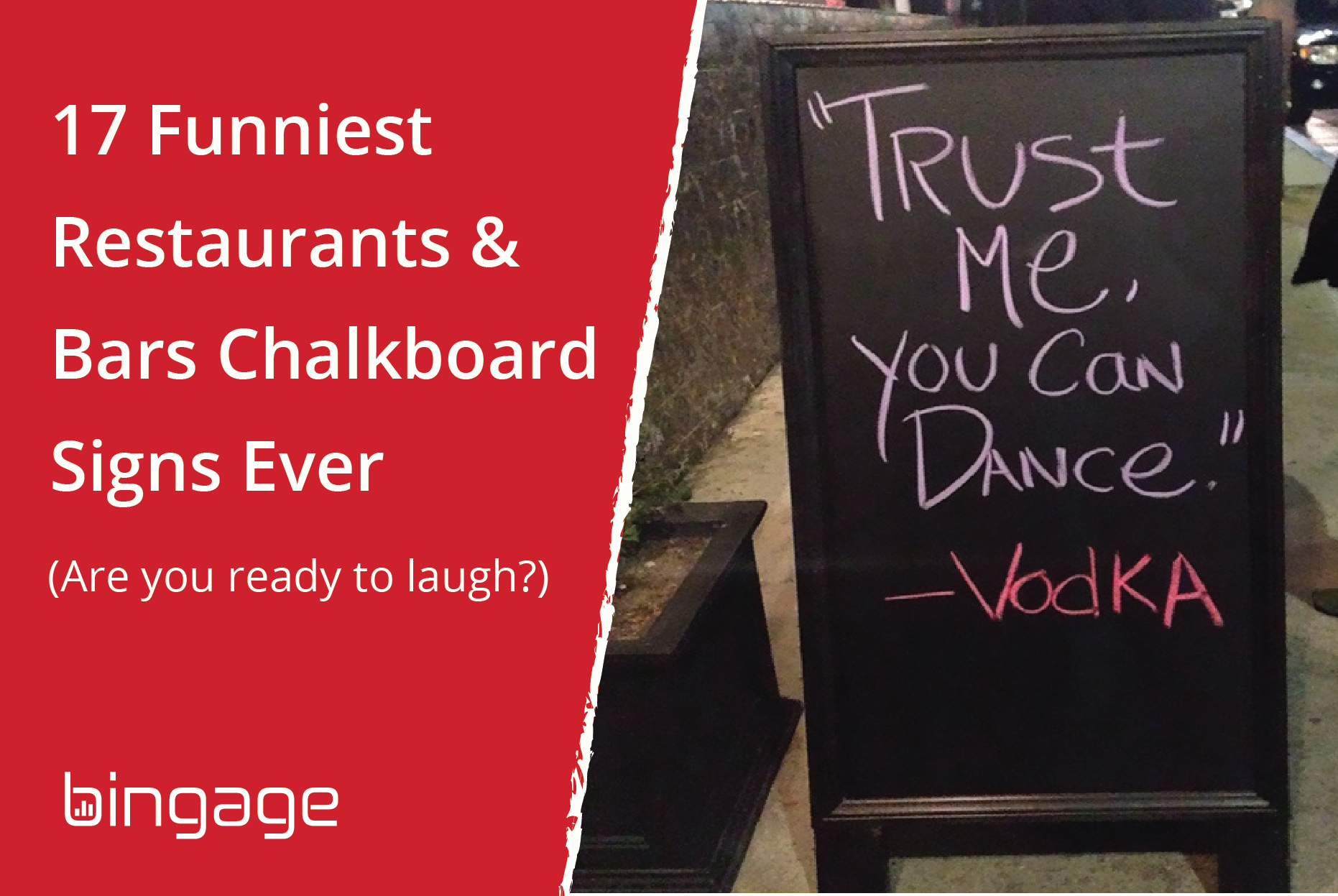 17 Funny & Creative Restaurants & Bars Chalkboard Signs