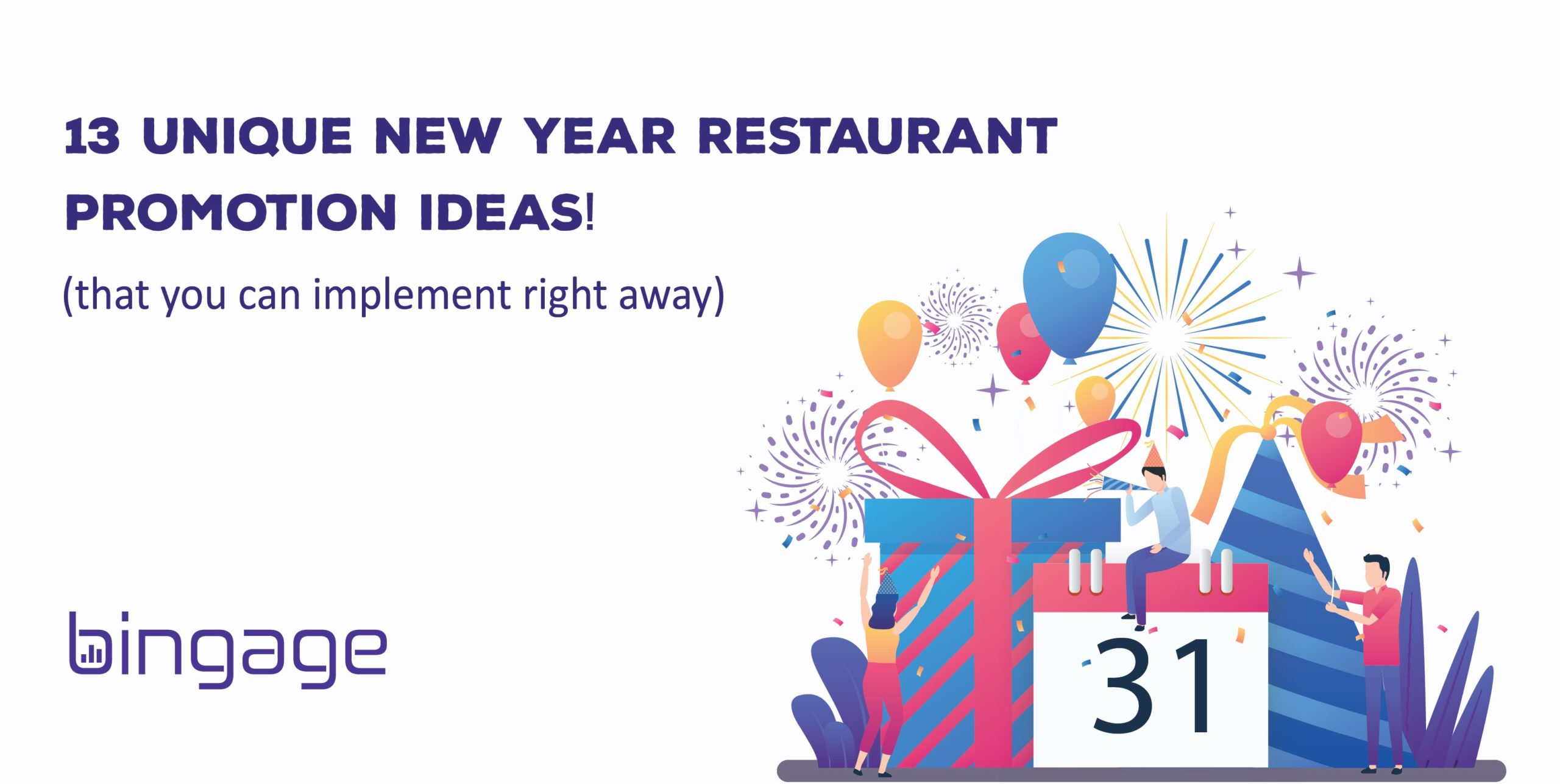 13 Simplest Yet Creative New Year Restaurant Promotion Ideas