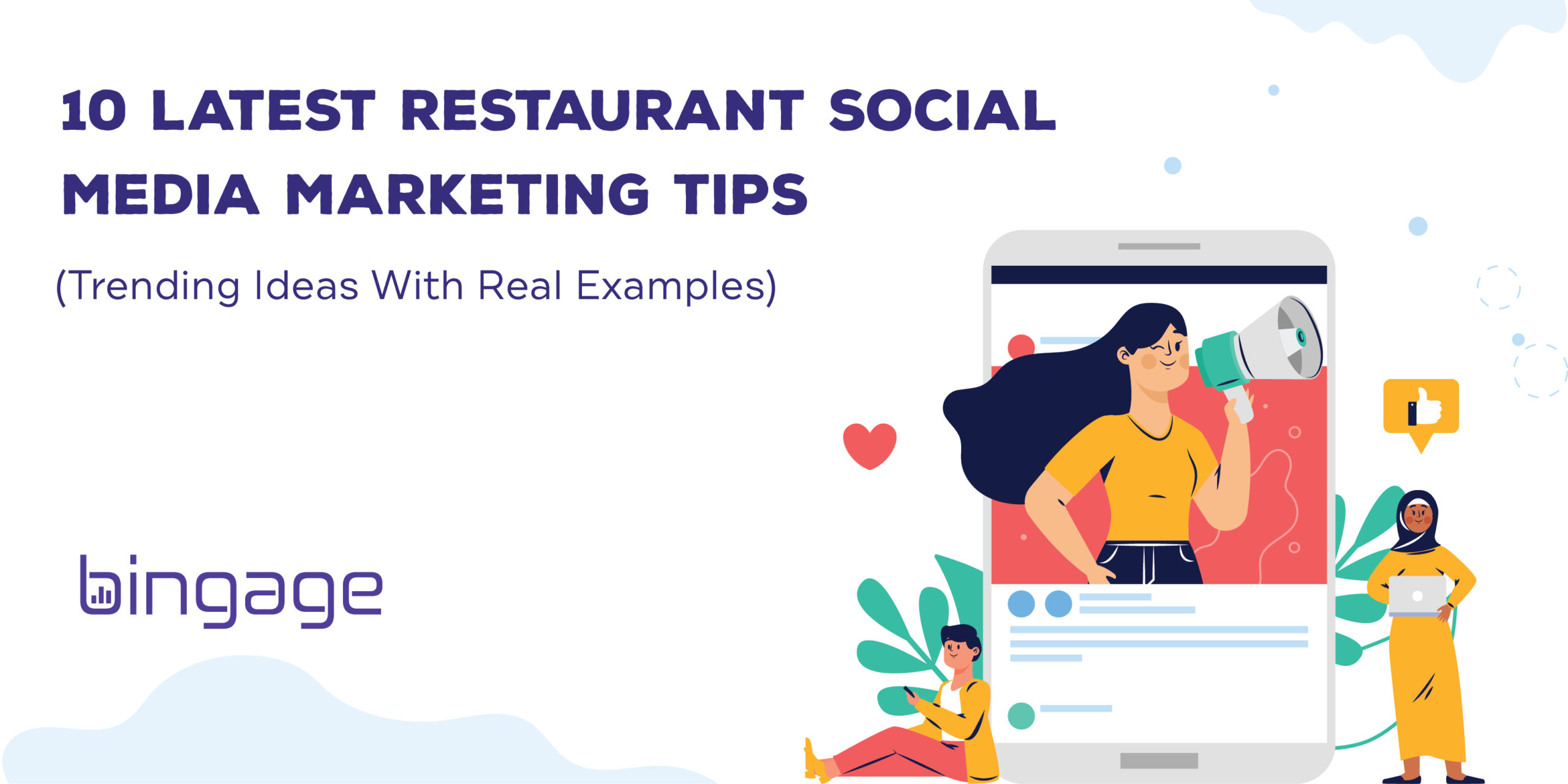 10 Social Media Marketing Tips for Restaurant (Along with Fresh Content Ideas)
