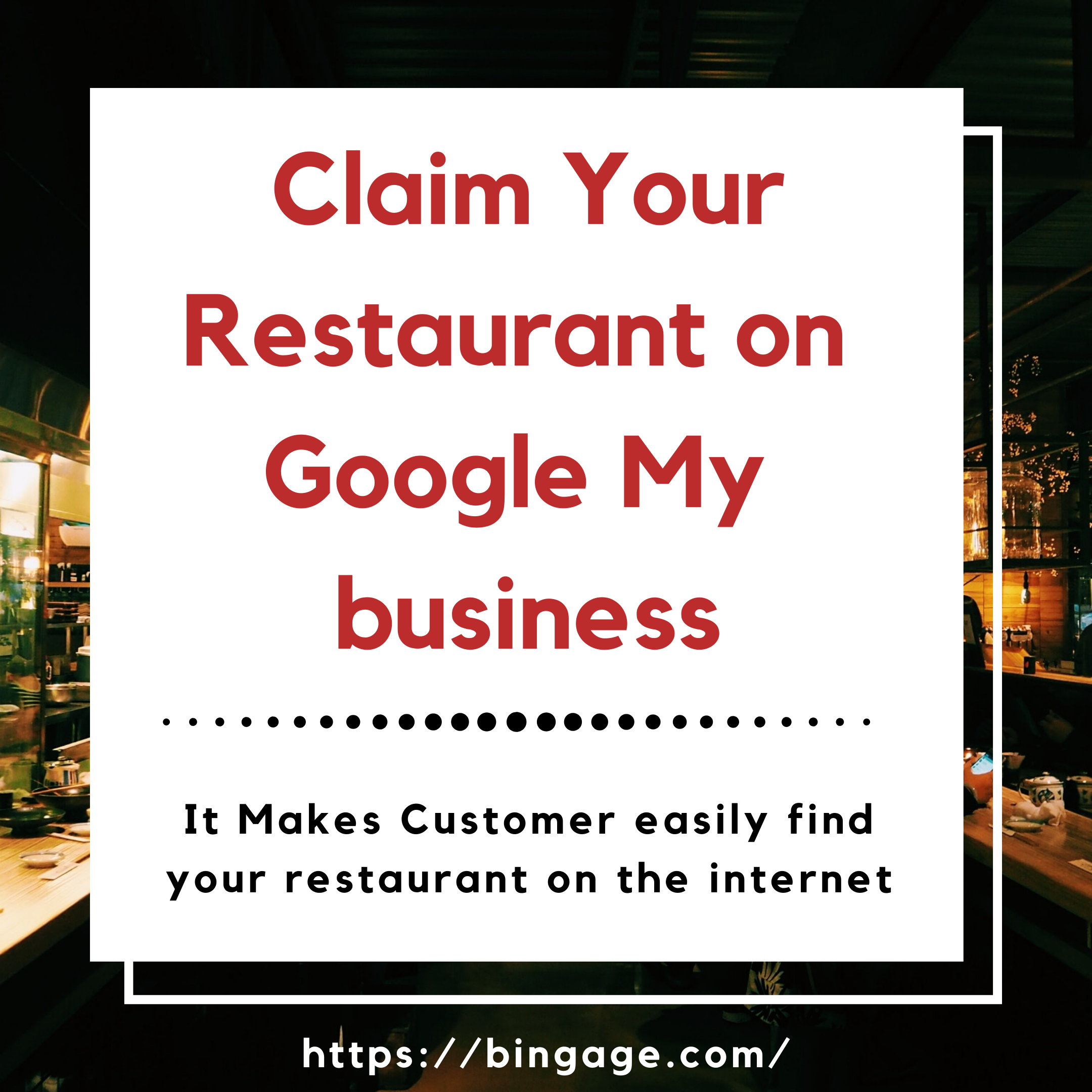register a restaurant on google my business