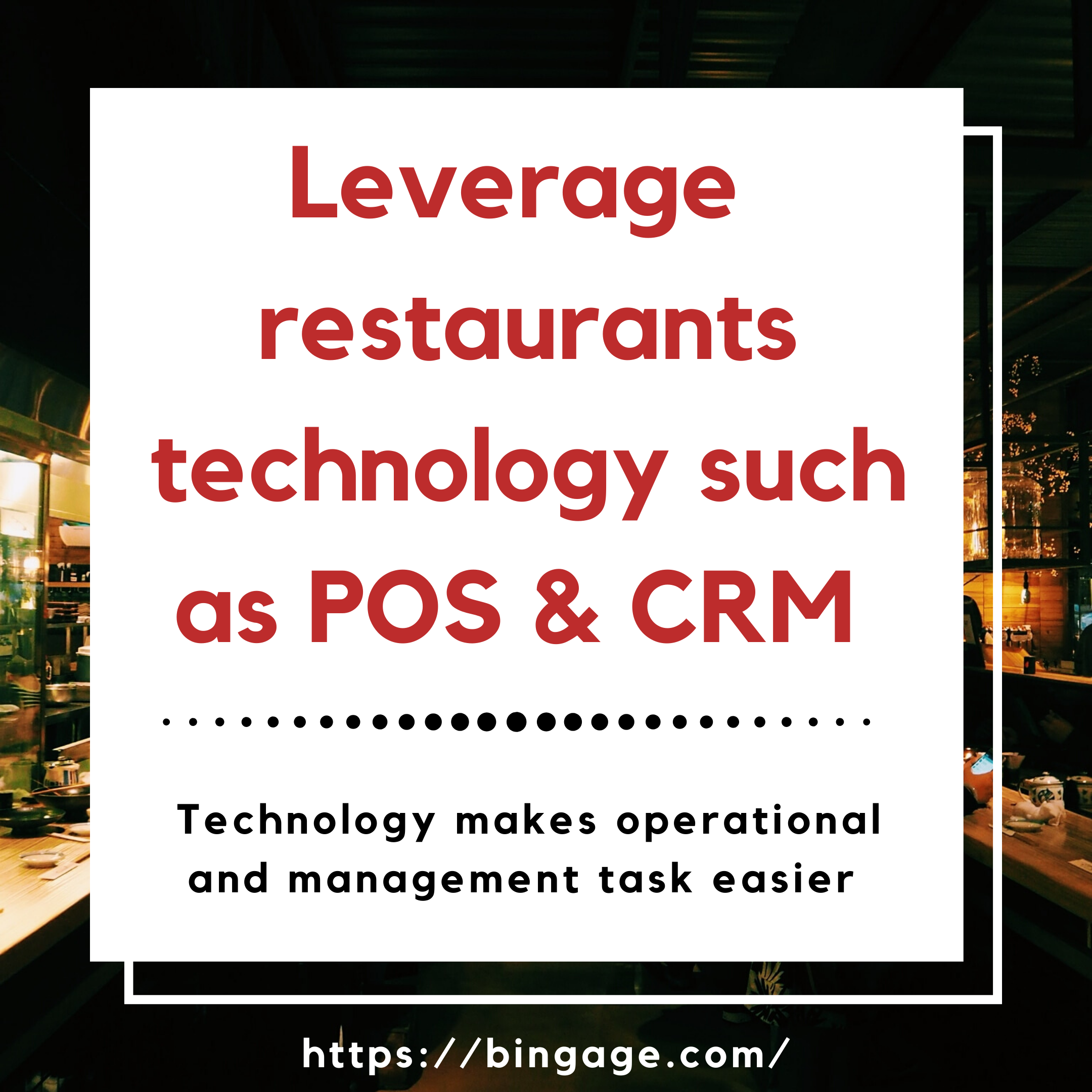 importance of restaurant technology - increase a restaurant sales