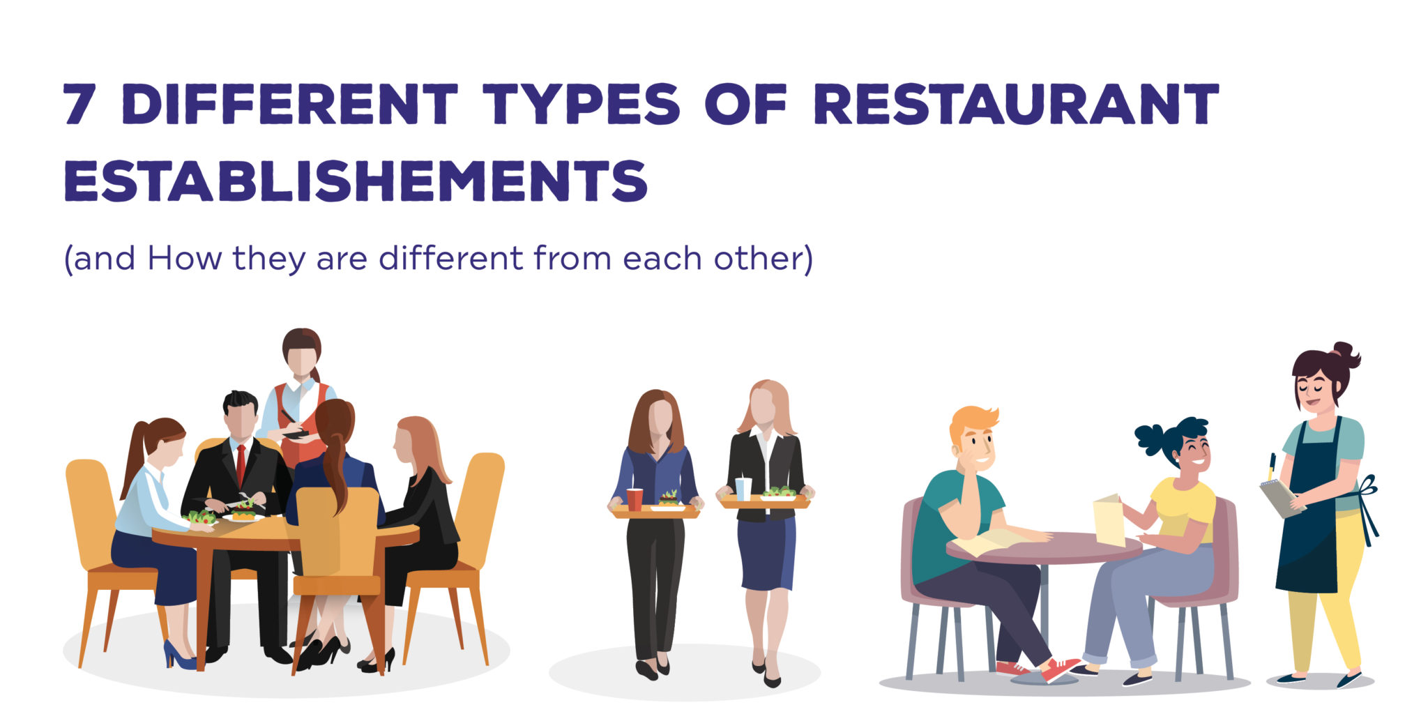 7 Different Types of Restaurant Establishments (A Comprehensive guide)