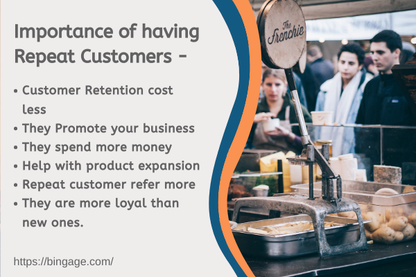 importance of repeat customers in the business