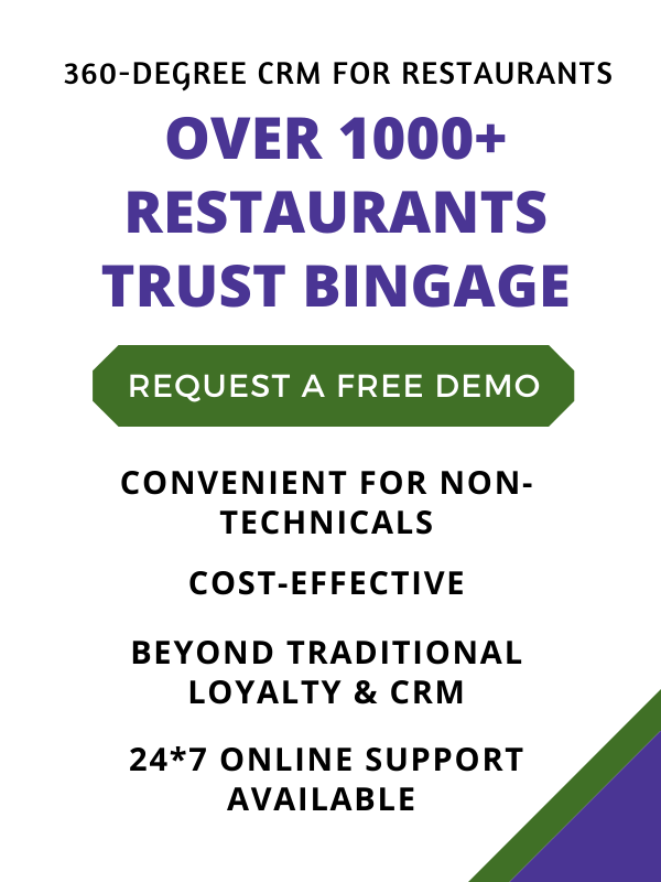 360-degree restaurant crm software and loyalty program