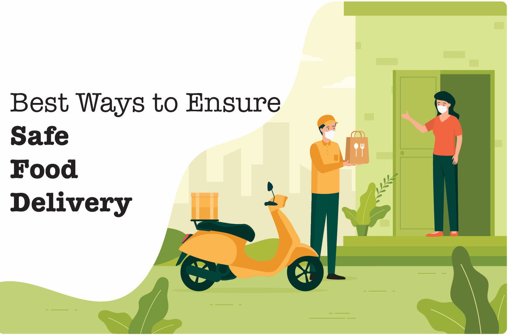 5 Ways Restaurants Can Ensure Safe Online Food Delivery During COVID-19